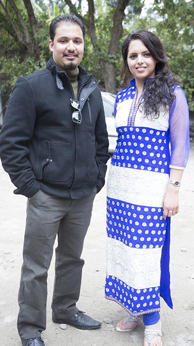 Eva Acharya & Sakar Pant